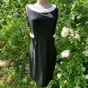 WD NY Sleeveless Button Accent Dress